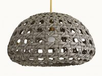 Black-Woven-Rattan-Pendant-Light