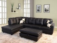Contemporary-Faux-Leather-Modular-Sofa