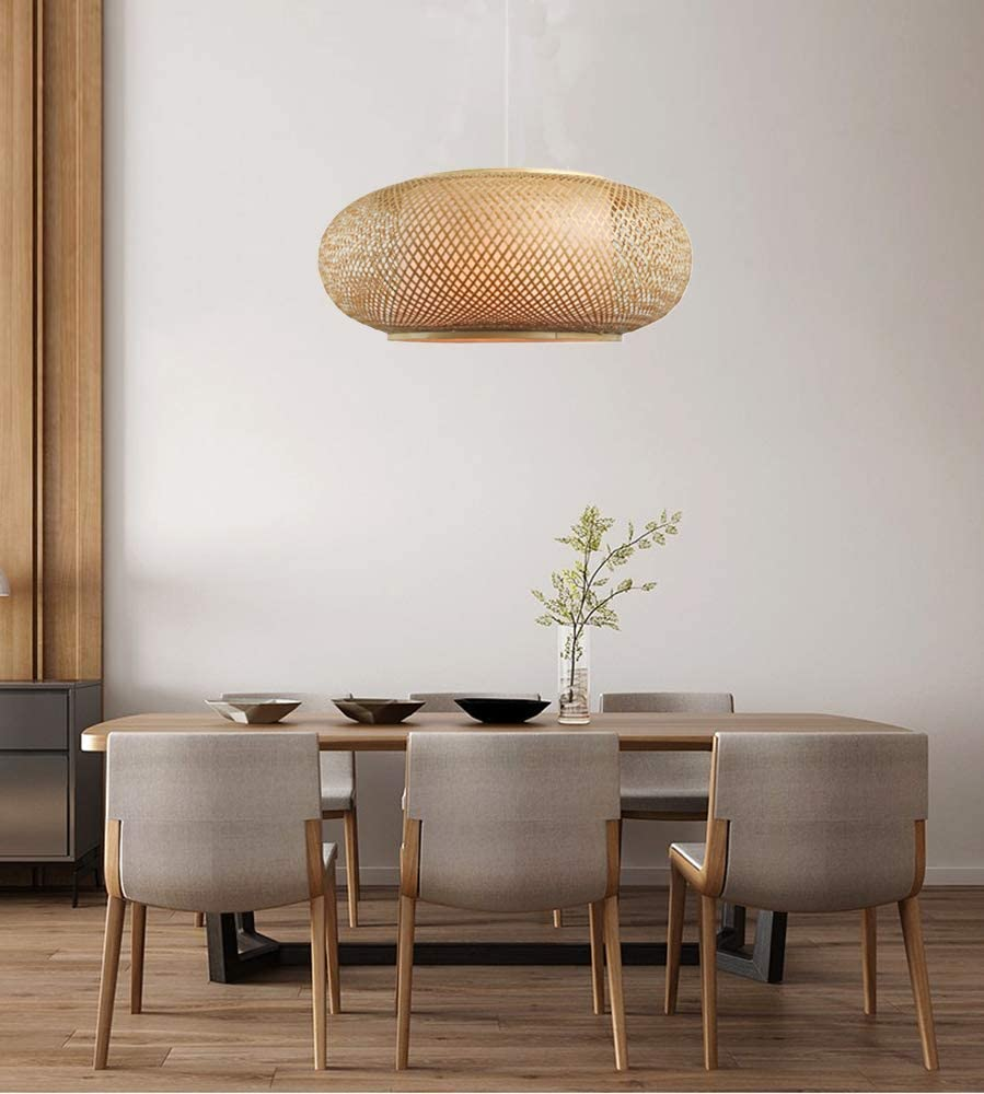 Drum-rattan-pendant-light-shades