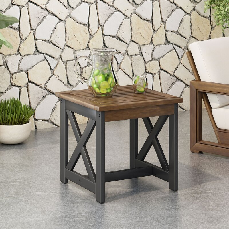 Elegant-Industrial-Outdoor-Side-Table