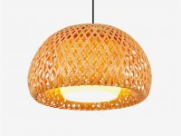 Half-globe-rattan-pendant-light-shades