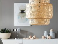 Ikea-Sinnerlig-Drum-Wicker-Pendant