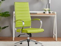 Lime-Green-High-Backed-Lightweight-Office-Chair