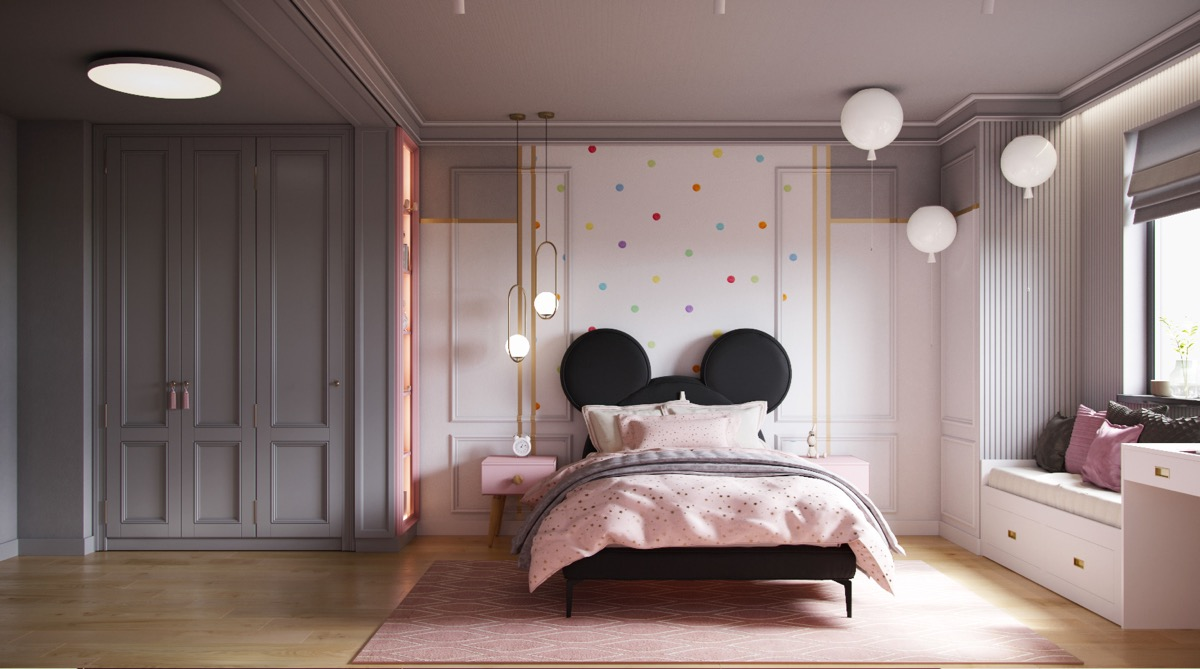 Mickey-Mouse-kids-room