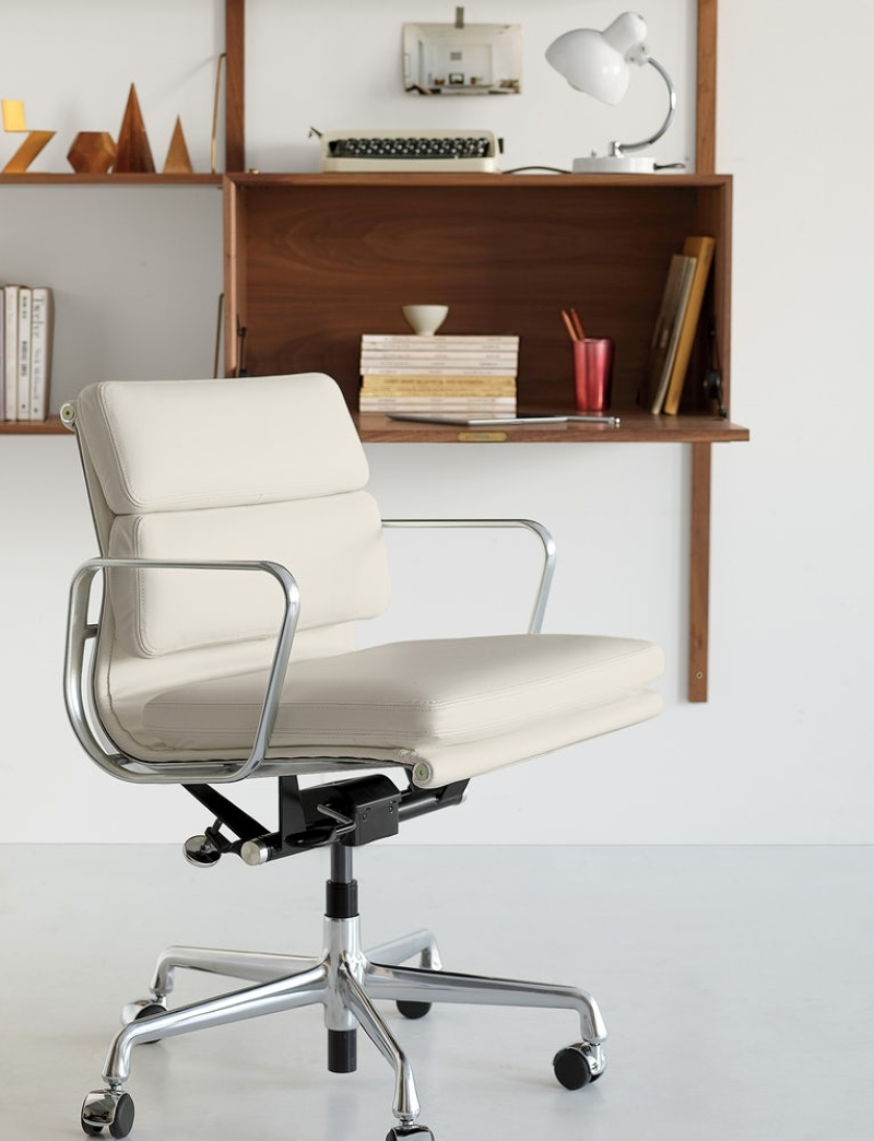 Mid-Back-White-Eames-Leather-Office-Chair