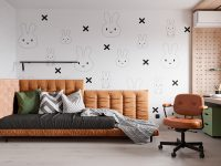 Miffy-themed-kids-room