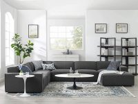 Modern-Large-Gray-Modular-Sofa