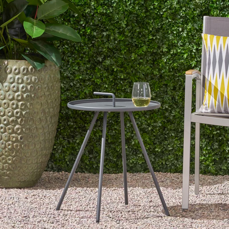 Modern-Metal-Outdoor-Side-Table-With-Handle