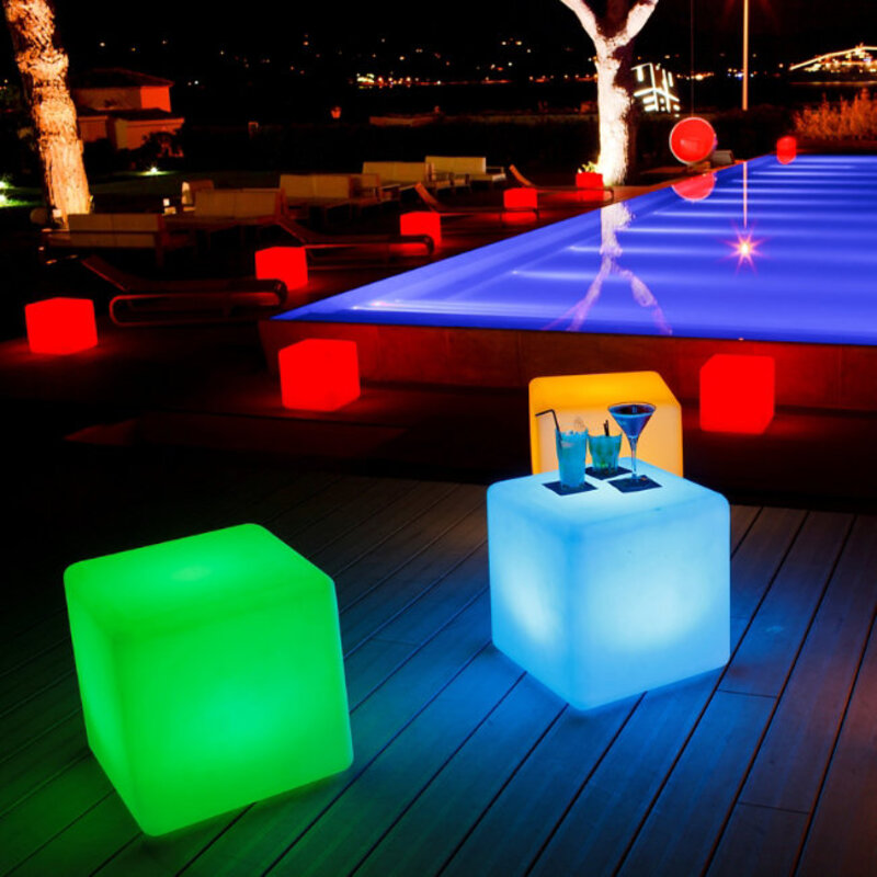 Plastic-Outdoor-Side-Table-With-Light