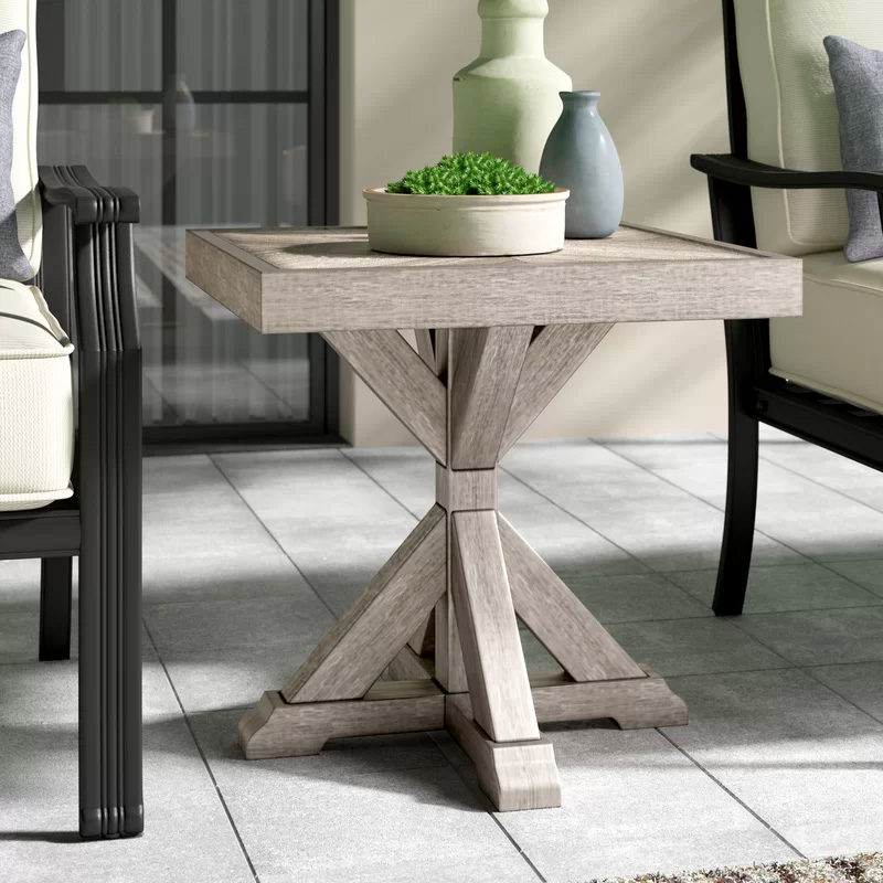 Rustic-Outdoor-Side-Table