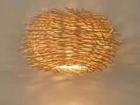 Rustic-rattan-pendant-light