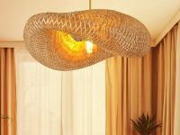 Sculptural-Woven-Bamboo-Pendant-Light