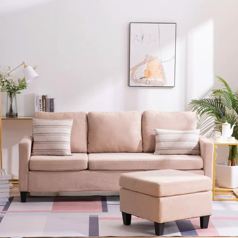 Small-Pink-Sectional-Sofa