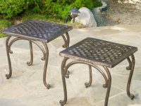 Traditional-Style-square-metal-outdoor-side-table