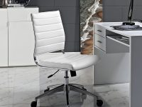 White-Leather-Office-Chair