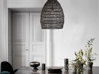 Woven-Black-Rattan-Pendant-Light