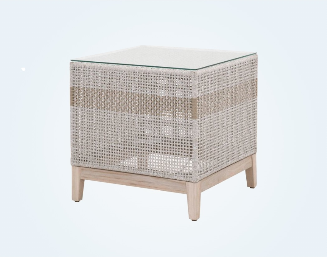 Woven-Outdoor-Side-Table