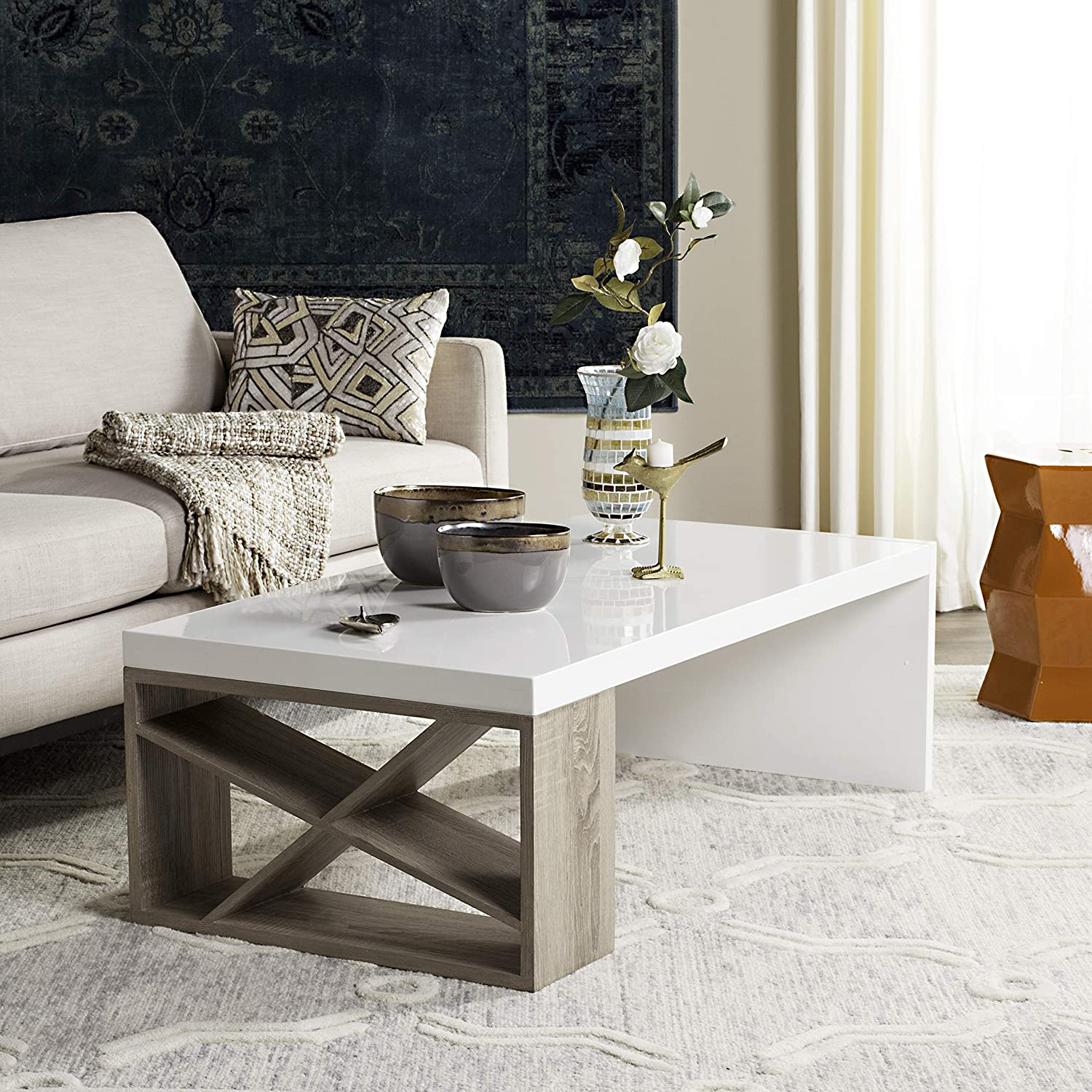 affordable-white-oak-coffee-table-modern-farmhouse-decor-ideas-glossy-tabletop-neutral-wood-finish-accent