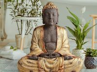 antique-big-buddha-statue-for-interior-or-outdoors-distressed-finish-molded-resin-construction-lightweight-sculpture-for-home-or-garden