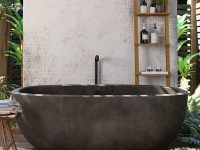 beautiful-concrete-bathtub-freestanding-oval-design-thick-walls