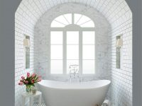 beautiful-soaking-bathtub-classic-bathroom-design-inspiration-freestanding-double-slipper-tub