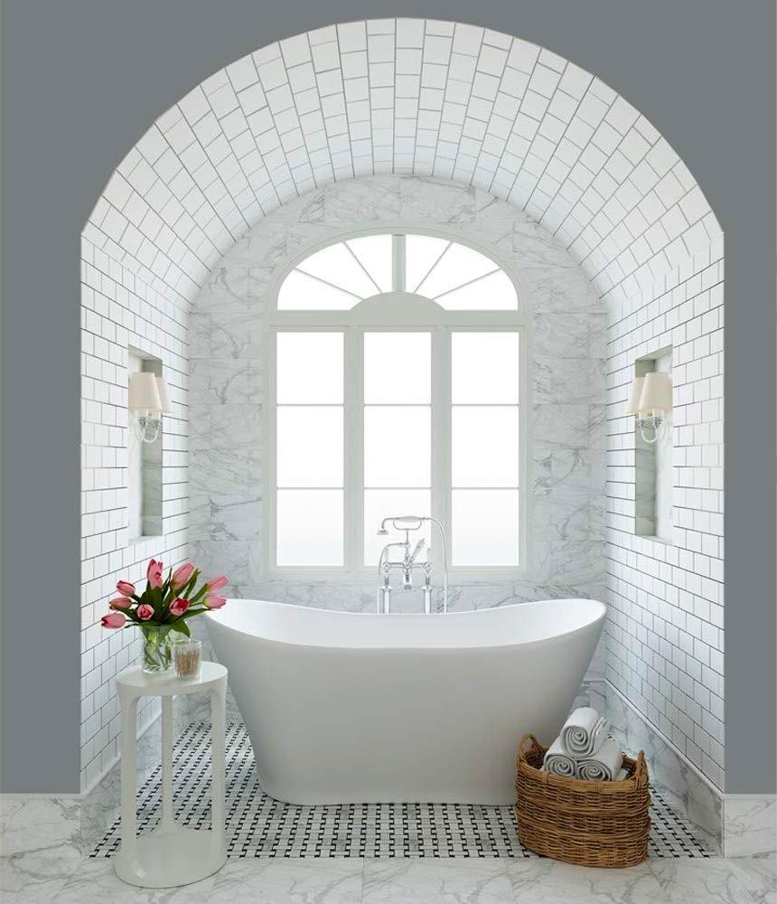 beautiful-soaking-bathtub-classic-bathroom-design-inspiration-freestanding-double-slipper-tub