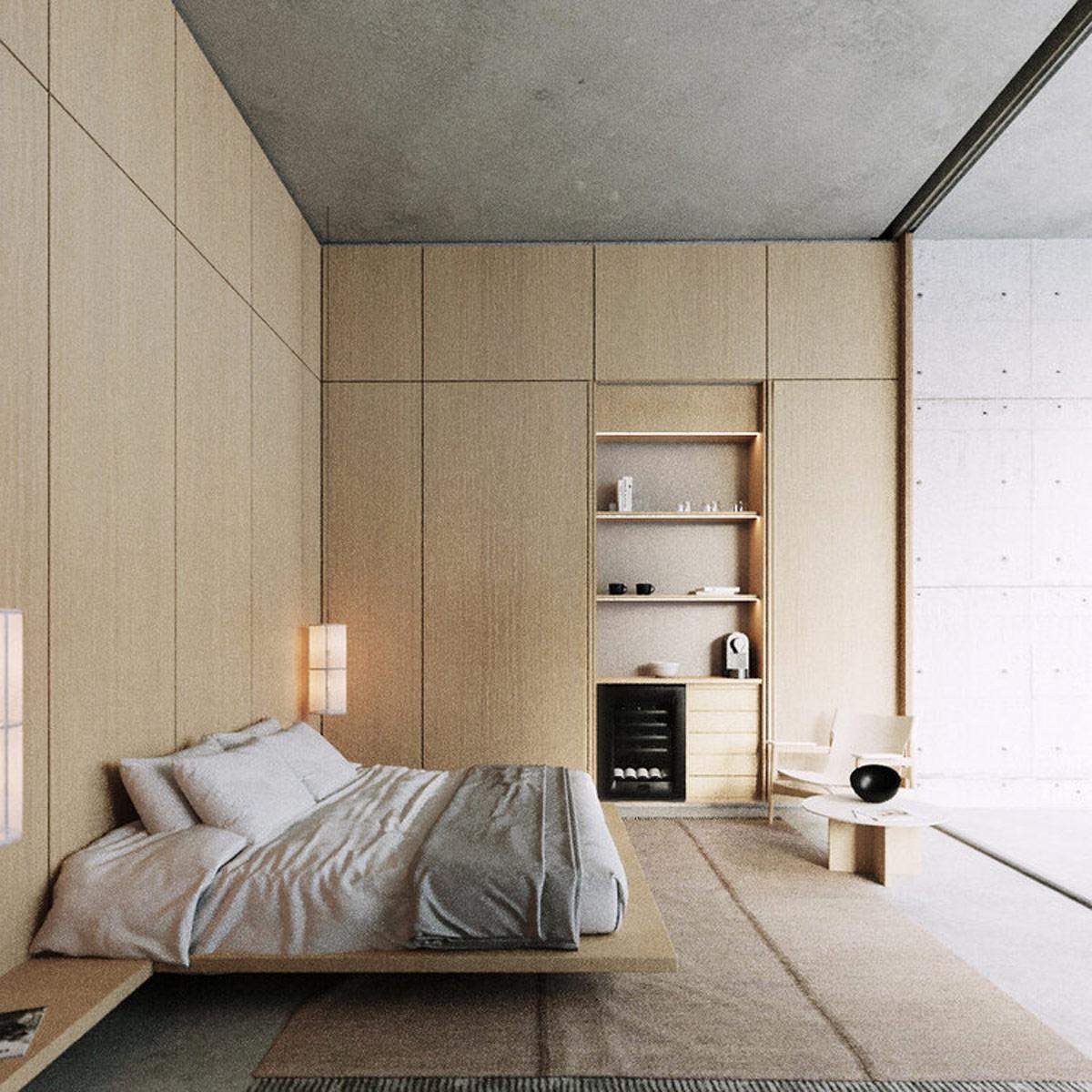 bedroom-coffee-bar