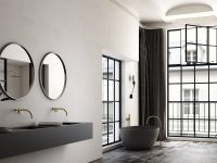 black-double-bathroom-vanity