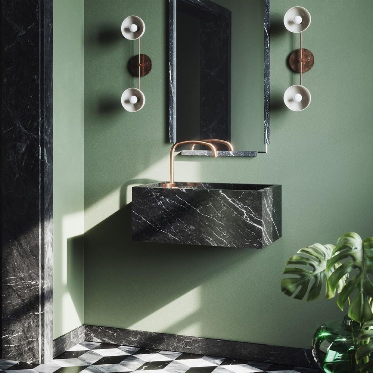 black-marble-vanity