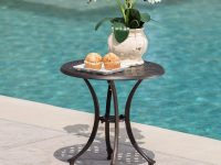 black-outdoor-side-table