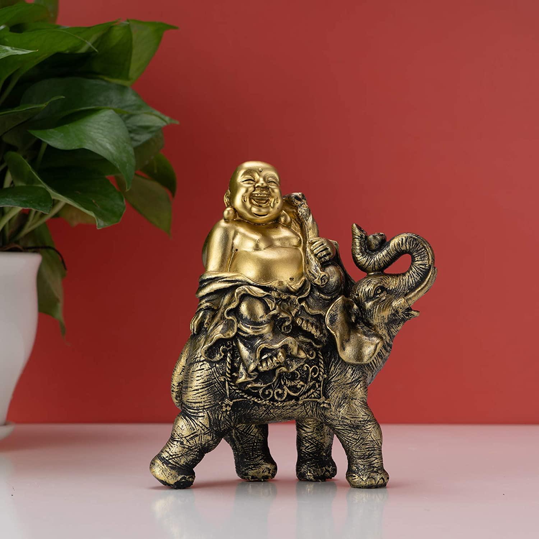 buddha-elephant-statue-feng-shui-gift-idea-intricate-detailing-gold-finish-7-inches-tall-spiritual-home-decor