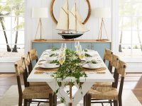 coastal-farmhouse-dining-table-white-finish-wood-stretcher-solid-acacia-furniture-construction-92-inch-tabletop-length