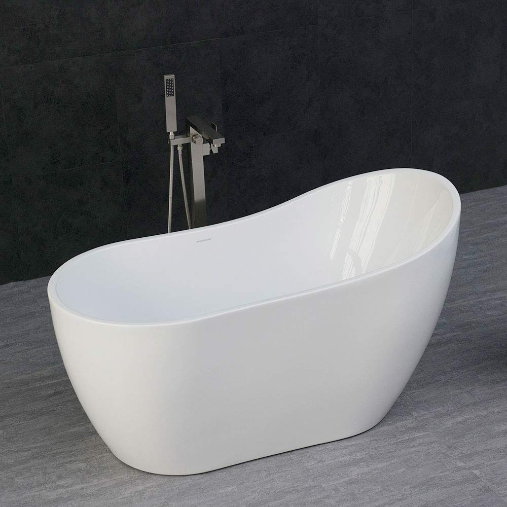 compact-freestanding-bathtub-for-small-bathrooms-single-slipper-design-54-inches-length