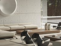 concrete-wall-living-room
