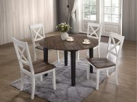 dark-farmhouse-dining-table-for-sale-round-top-with-tapered-legs-48-inch-diameter-for-small-or-medium-dining-rooms