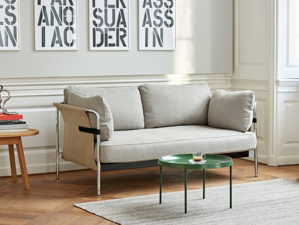 designer-small-modern-sofa-bouroullec-loveseat-with-hammock-sides-grey-upholstery-high-end-furniture-to-save-space