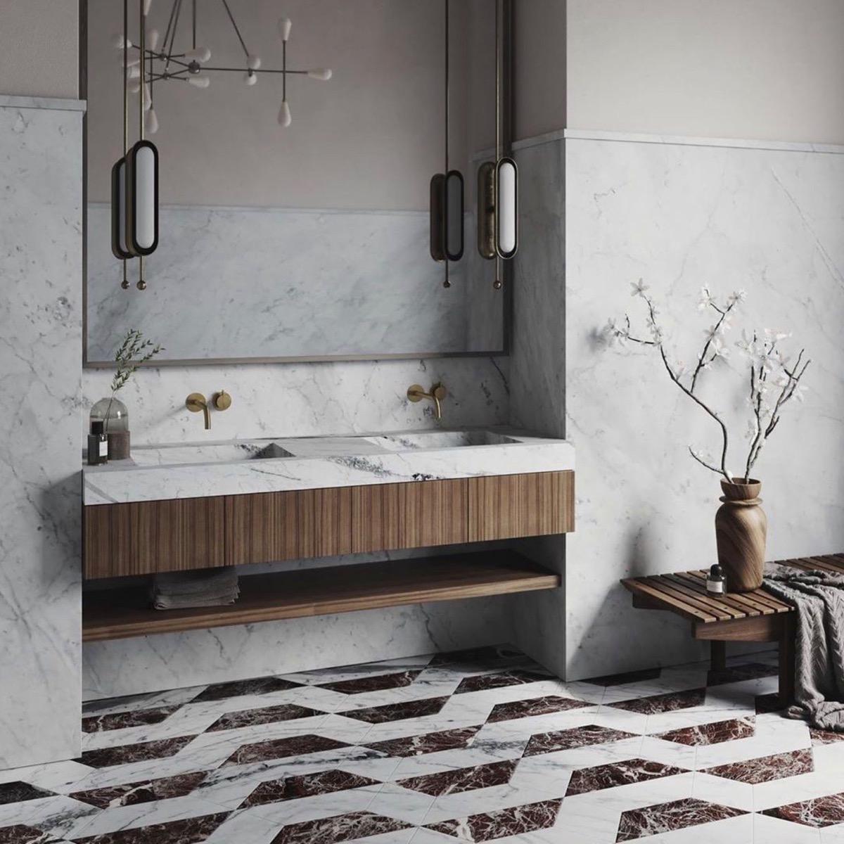 double-vanity-with-towel-shelf