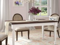 farmhouse-dining-room-table-with-classic-white-base-dark-walnut-top-60-inch-tabletop-for-rustic-interior-themes