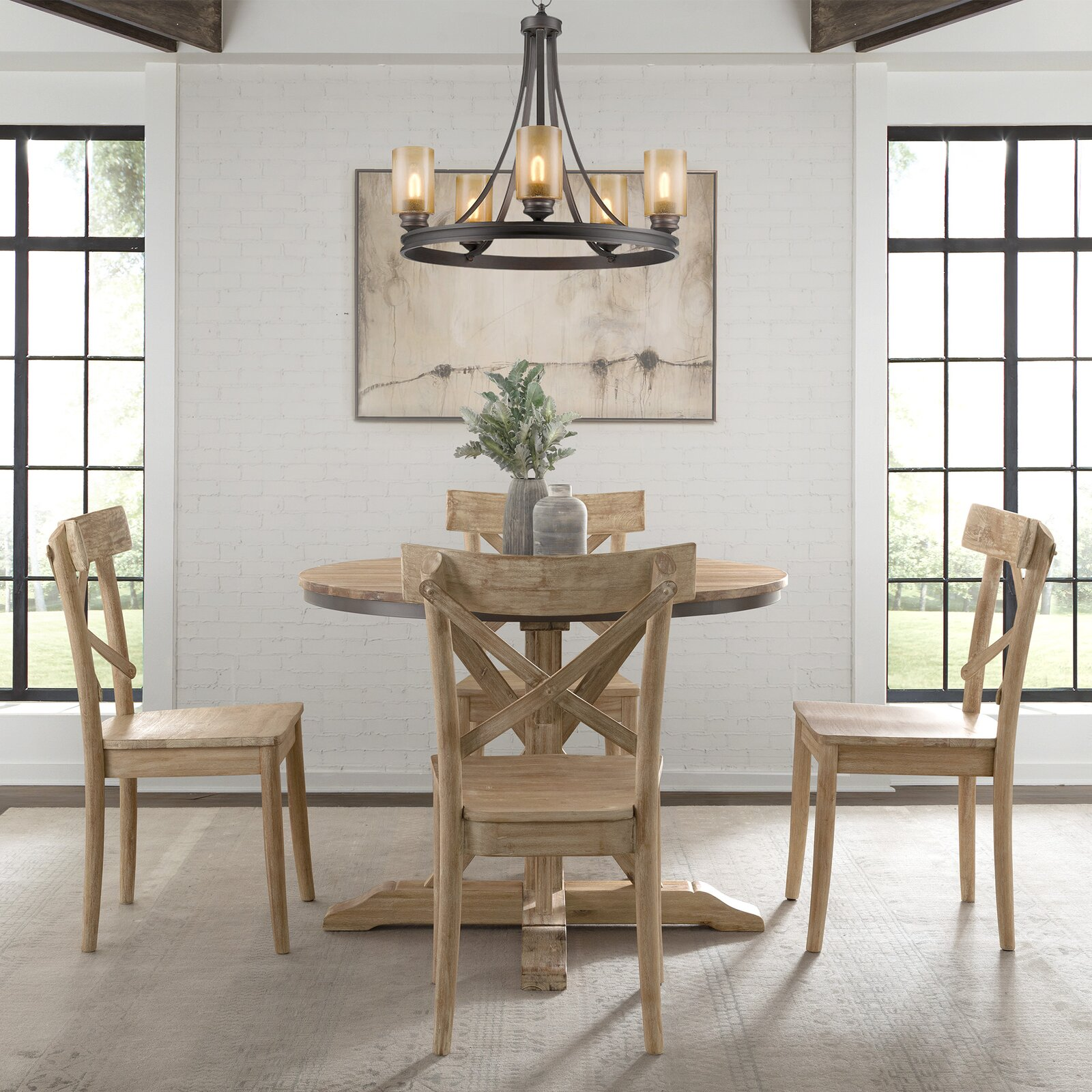 farmhouse-dining-table-and-chairs-set-light-natural-wood-finish-42-inch-round-table-x-back-chairs-seats-four