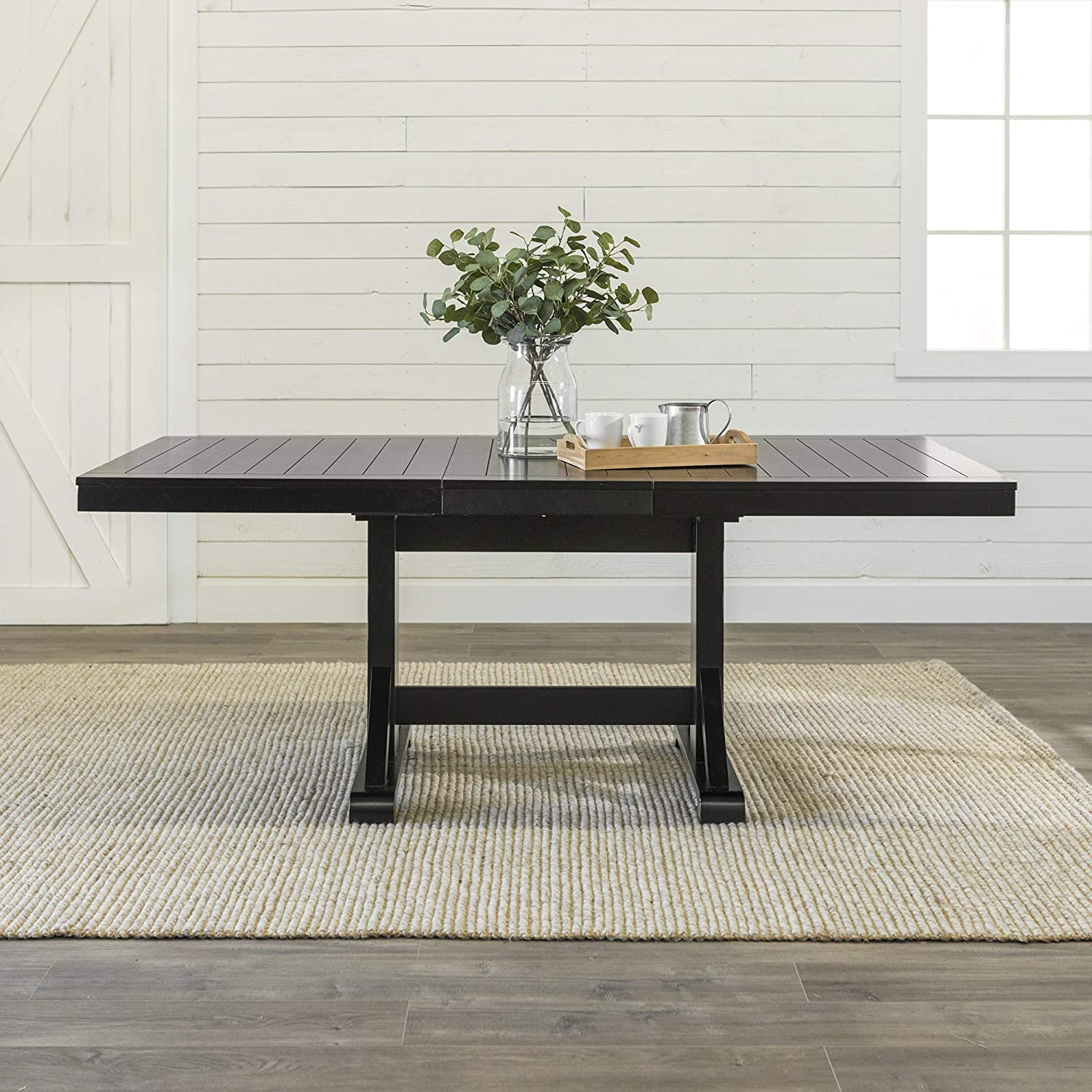 farmhouse-extension-dining-table-black-finish-slat-top-77-inch-tabletop-size-modern-rustic-furniture-inspiration