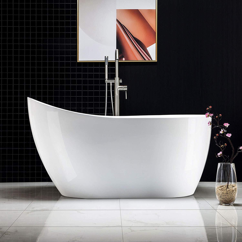 freestanding-acrylic-bathtub-slipper-shape-comfortable-bathtub-design-inspiration