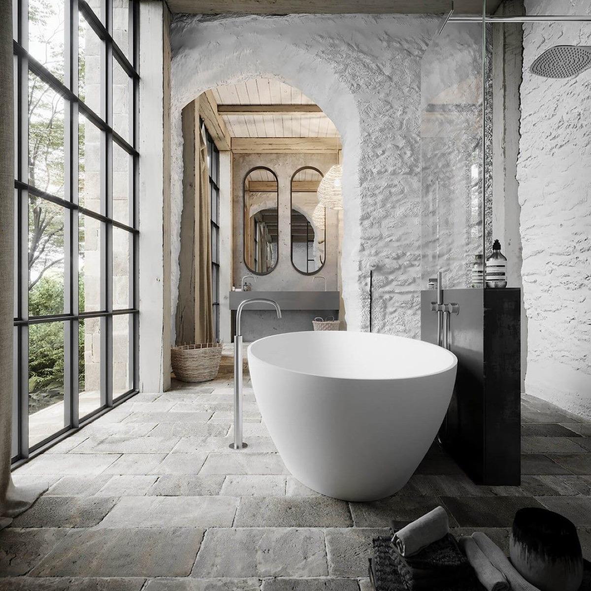 Sensational Bathrooms With Natural Timeless Elegance