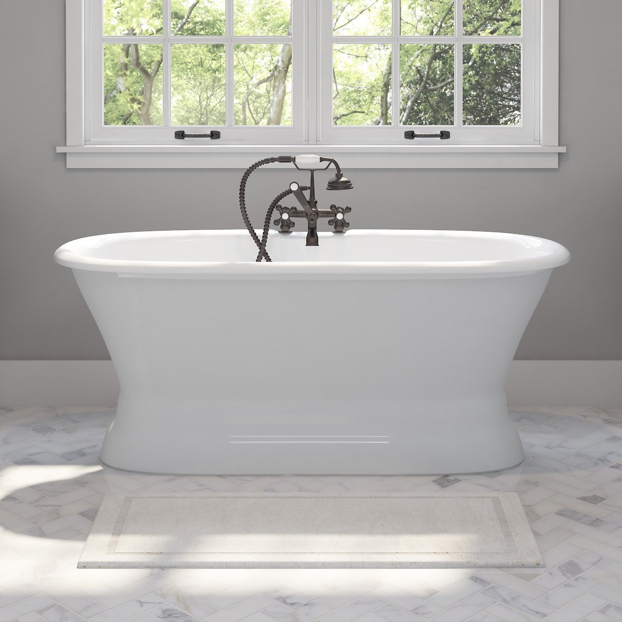 freestanding-cast-iron-and-porcelain-bathtub-high-quality-classic-bathroom-fixtures
