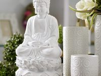 glossy-white-sitting-buddha-statue-16-inches-tall-lotus-base-dhyana-mudra-decor-unique-gift-idea-for-spiritual-inspiration-decor
