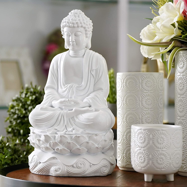 glossy-white-sitting-buddha-statue-16-inches-tall-lotus-base-dhyana-mudra-decor-unique-gift-idea-for-spiritual-inspiration-decor