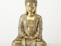 golden-buddha-statue-metallic-intricate-design-elegant-gift-idea-spiritual-decor-for-modern-home-interior