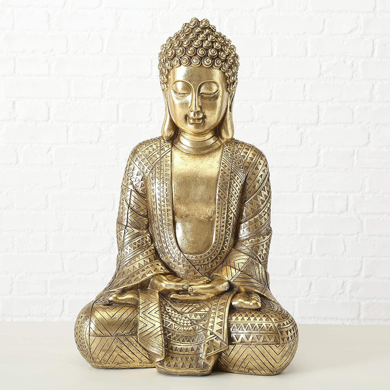 golden-buddha-statue-metallic-intricate-design-elegant-gift-idea-spiritual-decor-for-modern-home-interior