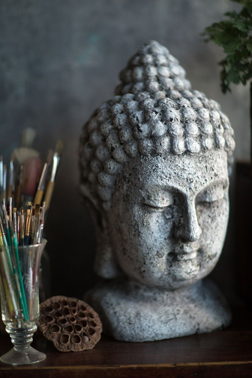 heavy-cement-buddha-head-statue-weathered-finish-unique-spiritual-decor-for-meditation-inner-peace-tranquil-home-decoration-ideas