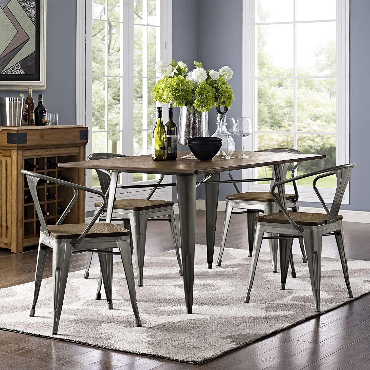 industrial-farmhouse-dining-table-metal-legs-tolix-style-table-unique-bamboo-tabletop-affordable-rustic-furniture