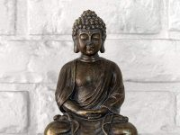 inexpensive-bronze-buddha-statue-small-8-inch-sculpture-spiritual-decor-for-home-office-or-side-table-antique-finish-spiritual-gift-idea